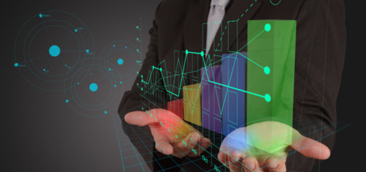 Online graphs and financial analytics